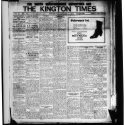 The Kington Times 1918