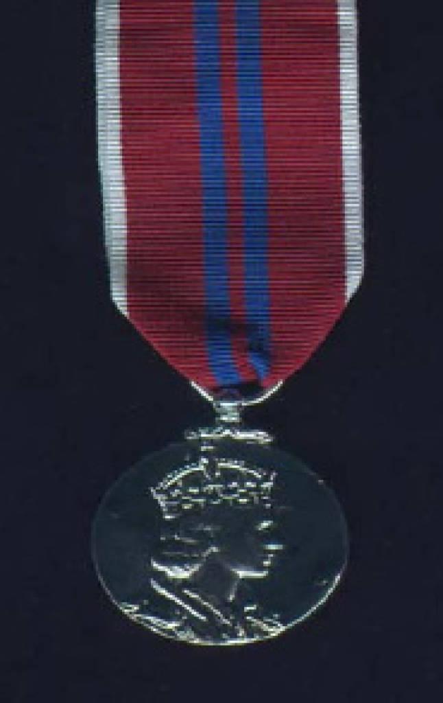 Queen Elizabeth II Coronation Medal