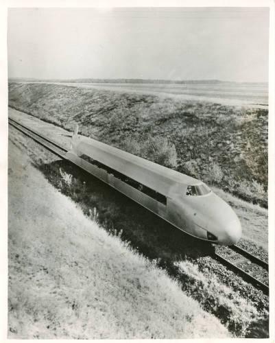 Schienenzeppelin (rail zeppelin)