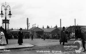 Exterior of Wimbledon Station