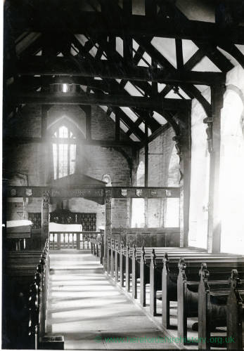 Vowchurch Church, interior