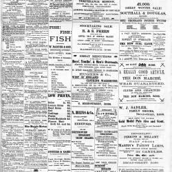 Ross Gazette - 1887