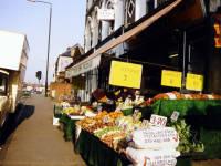 Mitcham Road: Greengrocers,