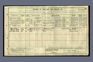 1911 census - 470 Kingston Road