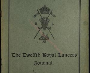 12th Lancers, 1909 December