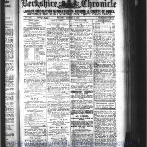 Berkshire Chronicle Reading 03-1915