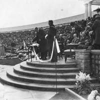 Earl of Derby Opening Southport Sea Bathing Lake