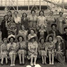 1953 A Ladies Pub Outing to Southend