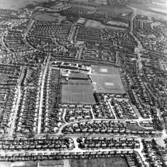 Harton, aerial view