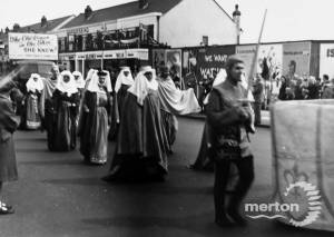 London Road, Mitcham: Coronation celebrations