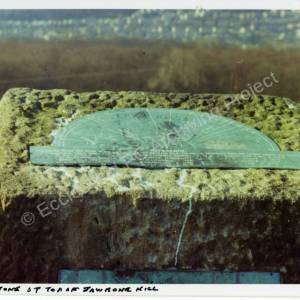 Viewing Stone at top of Jawbone Hill
