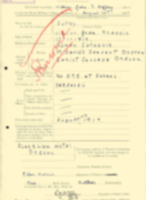 RMC Form 18A Personal Detail Sheets Aug 1935 Intake - page 49