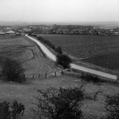Road Leading to Cleadon Hills