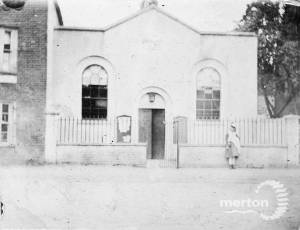 Interior of Old Wesleyan chapel on the Causeway (now Lower Green West)