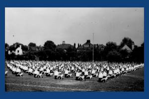 Wimbledon County School for Girls: Outdoor Exercises