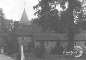 St Mary's Church, Church Path, Merton Park