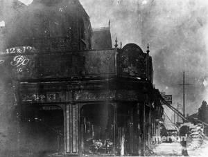 Merton Road, Wimbledon: Fire at shops