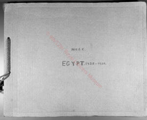Charrington Egypt 1928-30