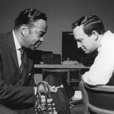 Buck Clayton and Alex Welsh, 1963.