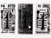 Horse bus tickets