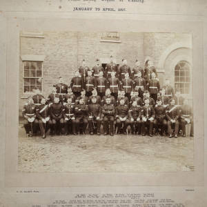 Army School of Cookery, 90th Class, 1897