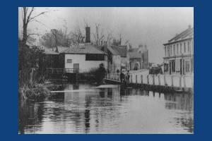 Merton High Street: River Wandle Morris Works