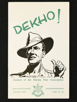 DEKHO! The Journal of The Burma Star Association - Issue No. 029, Year 1960