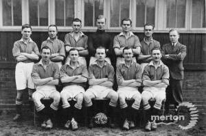 West Wimbledon Football Club: team photo