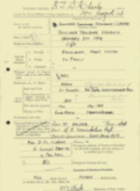 RMC Form 18A Personal Detail Sheets Feb & Sept 1933 Intake - page 168