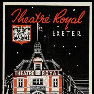 Theatre Royal, Exeter, July 1950