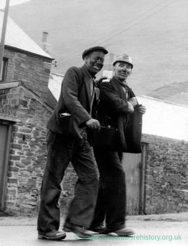 Miners in a Welsh Mining Town