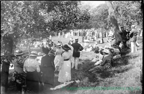 Herefordshire volunteers fete, Vineyard Croft, 1915