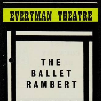 Everyman Theatre, Cheltenham, May 1967
