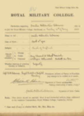RMC Form 18A Personal Detail Sheets May & Sept 1918 - page 12
