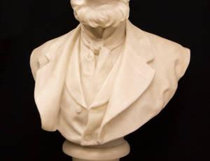 Bust of Thomas Taylor, JP, circa 1870