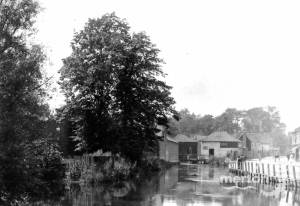Merton High Street: Mills on the River Wandle