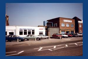 Burlington Road, New Malden: Racal Marine Electronics
