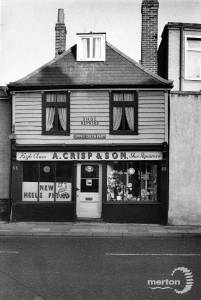 A.Crisp & Son, Upper Green East, Mitcham