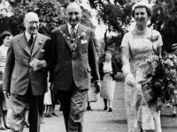 Princess Marina,Duchess of Kent pictured at Morden Hall