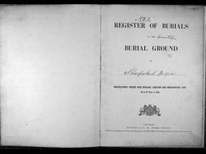 Shepshed Register of Burials (1876 to 1892)