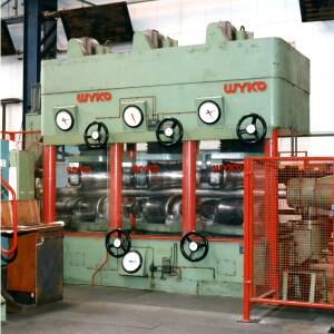 Machinery at Wiggins in Hereford.