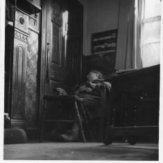 Grandma Wheatley Dozing, 38 Saville Street, South Shields