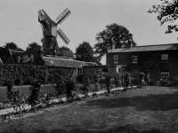 The windmill and the mill cottages, Wimbledon Common
