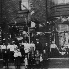 Armistice Celebrations on Dean Road