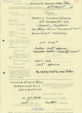 RMC Form 18A Personal Detail Sheets Aug 1935 Intake - page 207