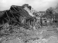 Bomb damage to the Methodist Church, Upper Green, Mitcham