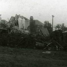 Bomb damage on Harton Lane