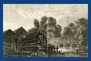 Glovers Snuff Mill, Mitcham Bridge.