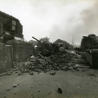 Akenside Street, bomb damage, Blitz