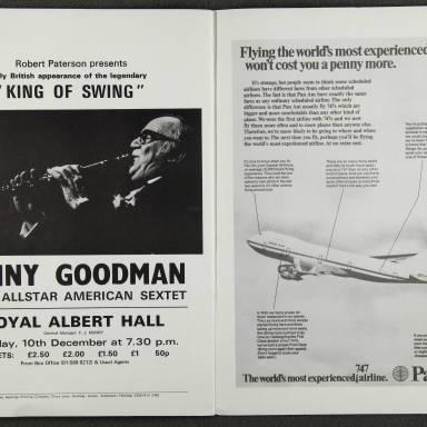 Duke Ellington Orchestra British Tour – November 1973 009